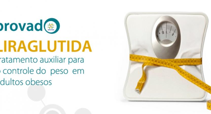 Anvisa aprova a Liraglutida para o controle do peso em obesos